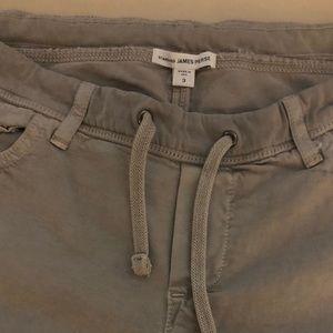 James Perse grey soft drape pants